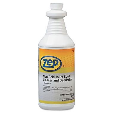 Zep Professional Toilet Bowl Cleaner Non Acid Staples