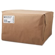 "Boardwalk® Kraft Paper Bag, 52 lb, 17"" H x 12"" W x 17"" D"
