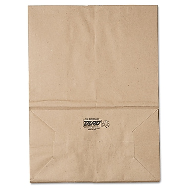 Boardwalk® Kraft Paper Bag, 57 lb, 17in. H x 12in. W x 17in. D