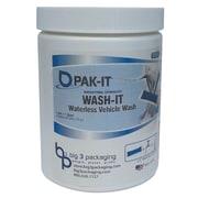 PAK-IT WashIt Waterless Vehicle Wash Breezy Scent  20/Jar