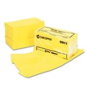 """Chix® Masslinn® Dust Cloths, 24"""" x 24"""", Yellow, 100/Carton (0911)"""
