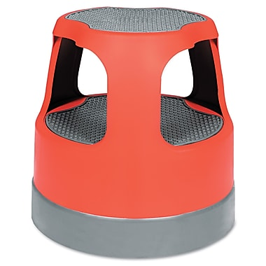 Cramer Rolling Step Stool Red