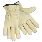 Memphis™ Full Leather Cow Grain Gloves, Beige, Extra Large