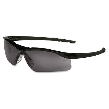 Crews DALLAS Wraparound Safety Glasses Black/Gray