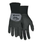 Memphis™ Ninja® Nylon Spandex BNF Coated Gloves, Gray/Black, Small