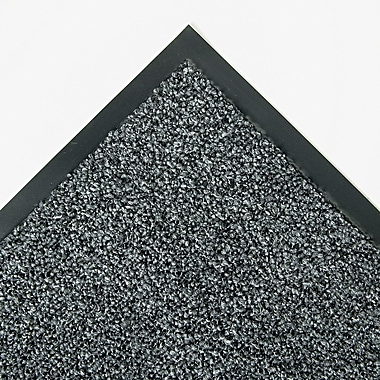Crown Indoor/Outdoor Wiper/Scraper Mat Olefin/Polypropylene 48in. x 72in. Gray
