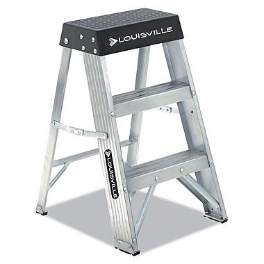 Louisville Aluminum Step Stool Aluminum / Black