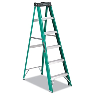 Louisville Fiberglass Step Ladder 6 Foot