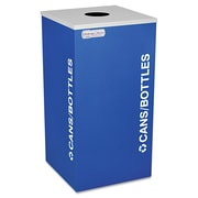Ex-Cell Kaleidoscope Collection Recycling Receptacle Royal Blue