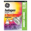 "GE 5"" x 6"" Halogen Light Bulbs-Halogen 60 Watt"