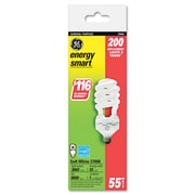 GE 3.23 x 8.78 Compact Fluorescent (CFL) Light Bulb 55-Watt