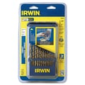 Irwin® Cobalt HSS 29 pcs Grade Heavy Duty Drill Bit Set, 1/16 - 1/2 in By 1/64 in