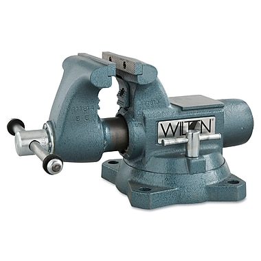 Wilton® Tools Tradesman Vise, 5in. Max Opening, 360° Swivel, 1/4 - 3in.