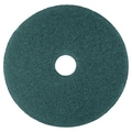 3M Nylon/Polyester Fiber 5300 Cleaner Pad, Blue, 12in.(Dia)