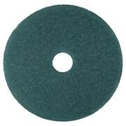 "3M Nylon/Polyester Fiber 5300 Cleaner Pad, Blue, 12""(Dia)"