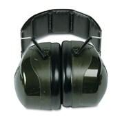 Peltor® Optime 101 Over The Head Deluxe Earmuff, Dark Green, 27 dB