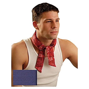 MiraCool® Tie Neck Bandana, Navy Blue