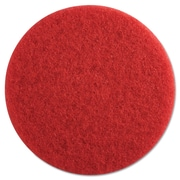 "Premiere Pads 13"" Buffing Floor Pad, Red"