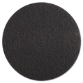 Premiere Pads Standard 20-Inch Diameter High Performance Stripping Floor Pads Black
