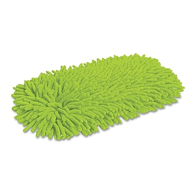 Quickie Swivel Microfiber/Chenille Dust Mop Refill Green