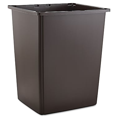 Rubbermaid® Commercial Glutton® Container, Brown, 56 gal