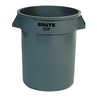 Rubbermaid® Commercial Brute® Container Without Lid, Gray, 20 gal