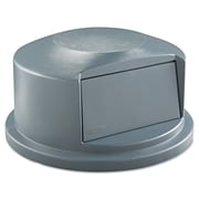Rubbermaid® Commercial Brute® Dome Top, Gray