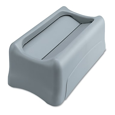 Rubbermaid® Commercial Slim Jim® Swing Lid For Slim Jim® Containers, Gray