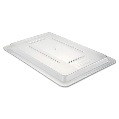 Rubbermaid® 3310 Food/Tote Box Lid, 18in.(L) x 12in.(W), Clear