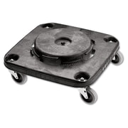 Rubbermaid® Commercial Brute® Square Dolly For 3526, 3536 Containers, Black