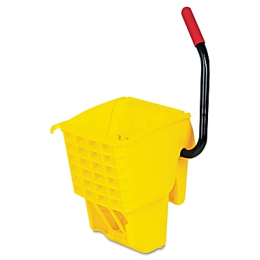Rubbermaid Commercial Wave Brake Side-Press Wringer Yellow
