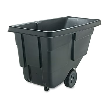 Rubbermaid Commercial Tilt Truck Black