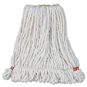 Rubbermaid Commercial Products Small Web Foot Wet Mop Head White