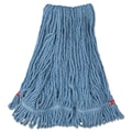 Rubbermaid Commercial Web Foot Wet Mop Head Blue
