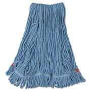 Rubbermaid Commercial Web Foot Wet Mop Head Blue