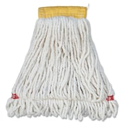 Rubbermaid Commercial Web Foot Shrinkless Wet Mop White