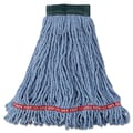 Rubbermaid Commercial Mop Heads-Wet Mop Blue