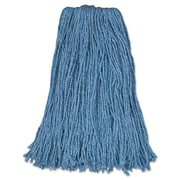 Rubbermaid Commercial Cut-End Blend Mop Heads Blue