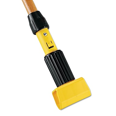 Rubbermaid Commercial Gripper Hardwood Mop Handle Natural/Yellow