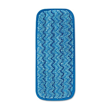 Rubbermaid Commercial Blue Wall/Stair Wet Microfiber Mopping Pad 13.7X5.5 Blue