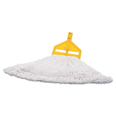 Rubbermaid Commercial Medium Nylon Finish Mop White