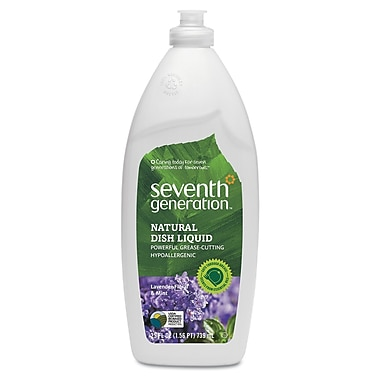 Seventh Generation® Natural Dish Liquid Soap, Lavender Floral And Mint, 25 oz. Bottle