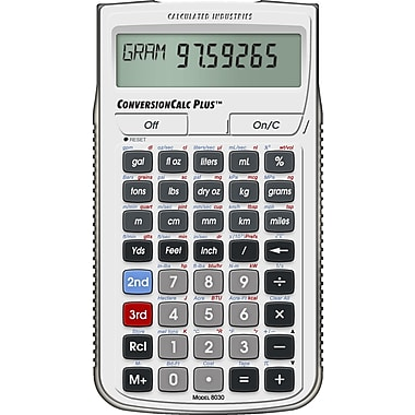 Calculated Industries - Calculatrice de conversions ConversionCalc Plus™ 8030