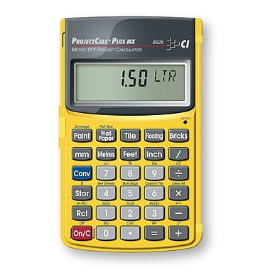Calculated Industries ProjectCalc® Plus MX 8528 Metric Calculator