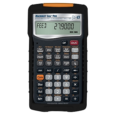 Calculated Industries - Calculatrice pour machiniste Machinist Calc® Pro 4087