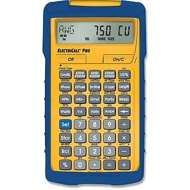 Calculated Industries ElectriCalc® Pro 5070 Calculator