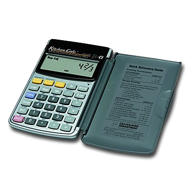 Calculated Industries - Calculatrice numérique de cuisine KitchenCalc™ 8300
