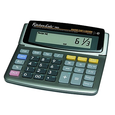 Calculated Industries KitchenCalc™ Pro Master Chefs Edition 8350 Scaling Calculator