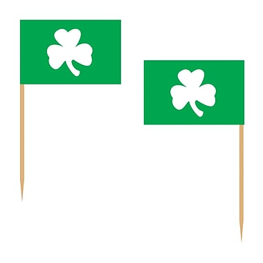 Beistle Shamrock Picks, 2 1/2