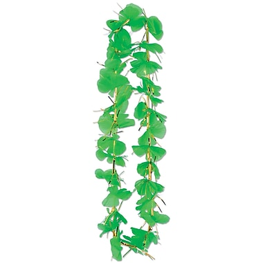 Beistle Shamrock Party Lei, Green, 36